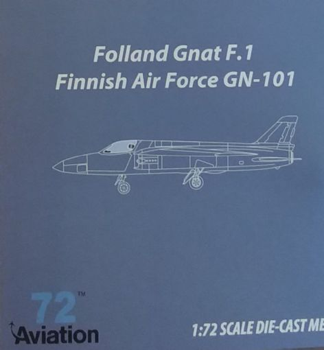 Aviation 1/72 Folland Gnat Single Seat Finnish Air Force AV7228003 Aviation 1/72 Finnish Air Force F